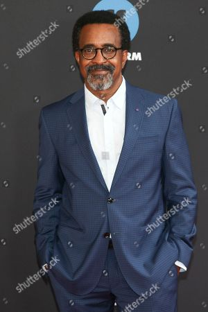 Tim Meadows attends the Disney/ABC/Freeform 2018 Upfront Party at Tavern on the Green, in New York