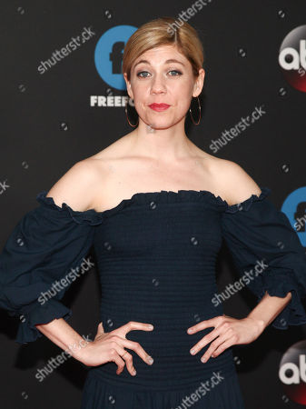 Editorial picture of 2018 Disney/ABC/Freeform Upfront Red Carpet, New York, USA - 15 May 2018