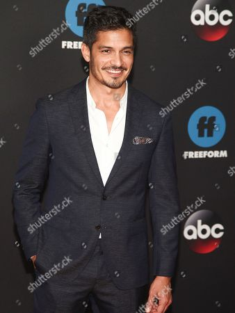 Nicholas Gonzalez attends the Disney/ABC/Freeform 2018 Upfront Party at Tavern on the Green, in New York