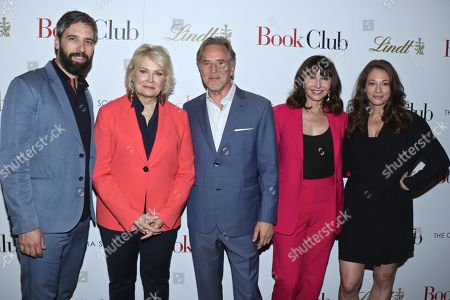 Editorial photo of 'Book Club' film screening, New York, USA - 15 May 2018