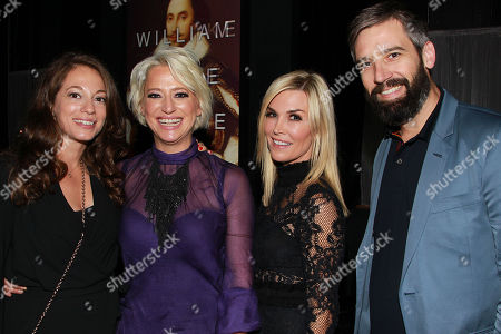 Erin Simms (Producer/Writer), Dorinda Medley, Tinsley Mortimer and Bill Holderman (Director/ Producer/Writer),