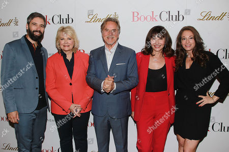 Bill Holderman (Director/ Producer/Writer), Candice Bergen, Don Johnson, Mary Steenburgen and Erin Simms (Producer/Writer)