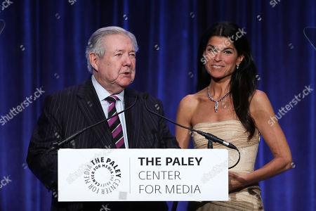 Frank Bennack and Maureen J. Reidy (CEO; Paley Center for Media)