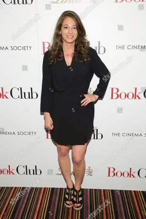 "Co-writer Erin Simms attends a special screening of Paramount Pictures' ""Book Club"", hosted by The Cinema Society, at City Cinemas 123, in New York"