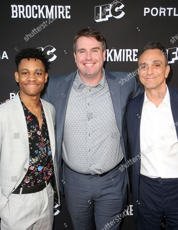 Stock Image of Tyrel Jackson Williams, Joel Church-Cooper, Hank Azaria