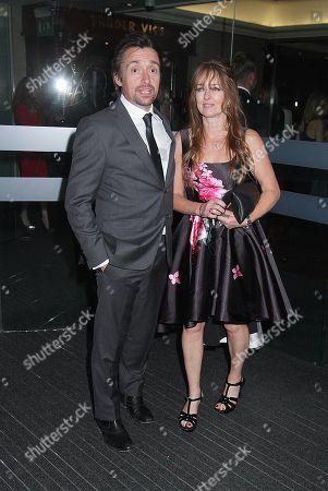 Stock Photo of Richard Hammond and wife Mindy Hammond
