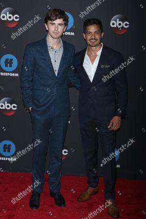 Freddie Highmore and Nicholas Gonzalez