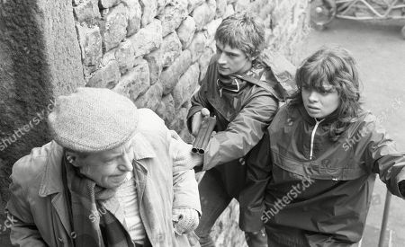 Ep 447 Tuesday 9th May 1978 The Woolpack robbers take further hostages - With Sam Pearson, as played by Toke Townley ; Steve Hawker, as played by Paul Rosebury; Pip Coulter, as played by Julie Dawn Cole.