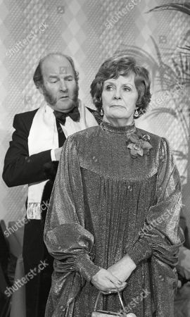 Ep 429 Tuesday 28th February 1978 Amos goes to the Press Ball and gets into trouble - With Amos Brearly, as played by Ronald Magill ; Mrs Acaster, as played by Jean Heywood.