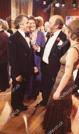 Ep 429 Tuesday 28th February 1978 Amos goes to the Press Ball and gets into trouble - With Amos Brearly, as played by Ronald Magill ; Mrs Acaster, as played by Jean Heywood ; Glenda Thompson, as played by Elaine Donnelly.