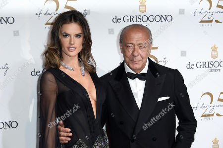 Alessandra Ambrosio, Fawaz Gruosi