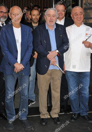 Meir Teper, Robert De Niro and Nobuyuki Matsuhisa