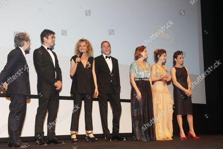 Stock Picture of Viola Prestieri, Riccardo Scamarcio, Valeria Golino, Valerio Mastandrea, Isabella Ferrari, Valentina Cervi, Jasmine Trinca