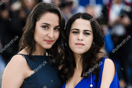 Portuguese actress Sarah Perles(L),  Moroccan actress Maha Alemi (R) pose during the photocall for 'Sofia' at the 71st annual Cannes Film Festival, in Cannes, France, 16 May 2018. The movie is presented in the section Un Certain Regard of the festival which runs from 08 to 19 May.