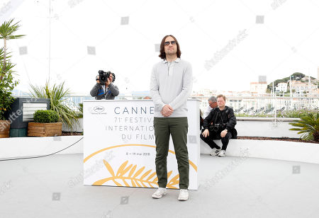 US director David Robert Mitchell poses during the photocall for 'Under the Silver Lake' at the 71st annual Cannes Film Festival, in Cannes, France, 16 May 2018. The movie is presented in the Official Competition of the festival which runs from 08 to 19 May.