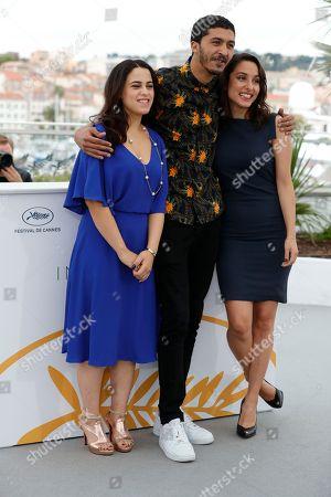 Maha Alemi, Actor Khafif Hamza and Sarah Perles