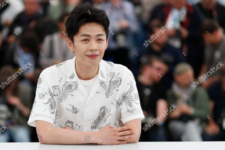 Chinese actor Lee Hong-Chi poses during the photocall for 'Long Day's Journey Into Night (Di Qiu Zui Hou De Ye Wan)' at the 71st annual Cannes Film Festival, in Cannes, France, 15 May 2018. The movie is presented in the section Un Certain Regard of the festival which runs from 08 to 19 May.