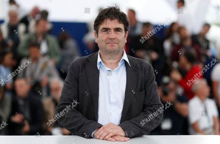 French director Romain Goupil  poses during the photocall for 'La Traversee' at the 71st annual Cannes Film Festival, in Cannes, France, 16 May 2018. The movie is presented in the section Special Screenings of the festival which runs from 08 to 19 May.