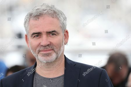 Director Stephane Brize poses for photographers during a photo call for the film 'At War' at the 71st international film festival, Cannes, southern France