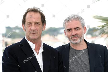 Director Stephane Brize and Vincent Lindon