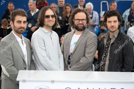 Stock Photo of Cinematographer Mike Gioulakis, director David Robert Mitchell, film editor Julio C. Perez IV and composer Rich Vreeland