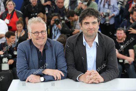 Director Daniel Cohn-Bendit and Romain Goupil