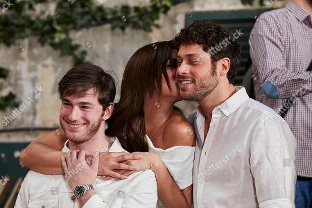 Manu Vega, Michelle Calvo and Jose Lamuno