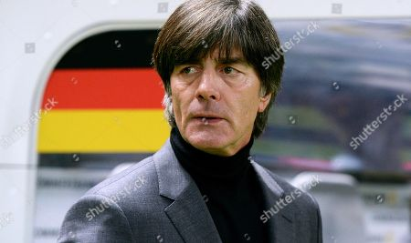 National Coach Joachim Loew, GER, 2018 FIFA World Cup Test Match, Olympic Stadium, Germany vs Brazil, Berlin, Germany