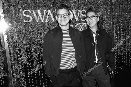 Editorial photo of CFDA and Swarovski emerging talent cocktail party, Arrivals, New York, USA - 16 May 2018