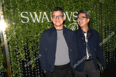 Editorial image of CFDA and Swarovski emerging talent cocktail party, Arrivals, New York, USA - 16 May 2018