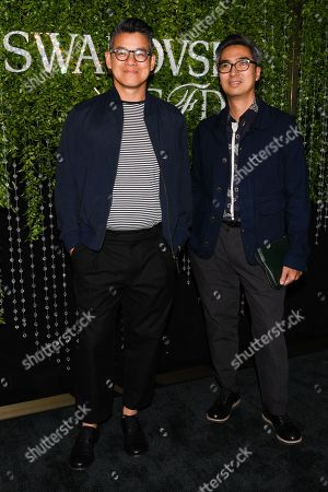 Editorial picture of CFDA and Swarovski emerging talent cocktail party, Arrivals, New York, USA - 16 May 2018