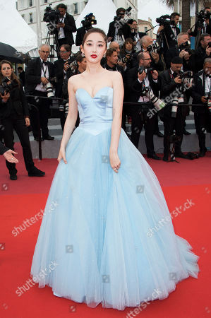 Editorial picture of 2018 Burning Red Carpet, Cannes, France - 16 May 2018