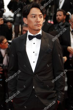 Chang Chen arrives for the screening of 'Burning' during the 71st annual Cannes Film Festival, in Cannes, France, 16 May 2018. The movie is presented in the Official Competition of the festival which runs from 08 to 19 May.