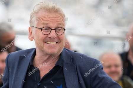 Stock Picture of Politician Daniel Cohn-Bendit poses for photographers during a photo call for the film 'On the Road in France' at the 71st international film festival, Cannes, southern France