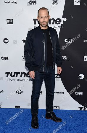 Mike Rubens attends the Turner Networks 2018 Upfront at One Penn Plaza, in New York