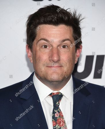 Michael Showalter attends the Turner Networks 2018 Upfront at One Penn Plaza, in New York