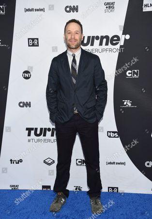 Jon Glaser attends the Turner Networks 2018 Upfront at One Penn Plaza, in New York