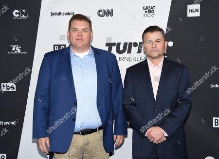 Kevin Hefferman, Steve Lemme. Kevin Hefferman, left, and Steve Lemme attend the Turner Networks 2018 Upfront at One Penn Plaza, in New York