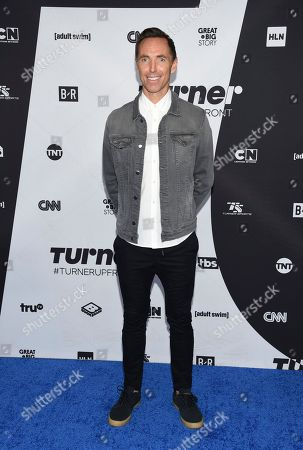 Stock Photo of Turner Sports host Steve Nash attends the Turner Networks 2018 Upfront at One Penn Plaza, in New York