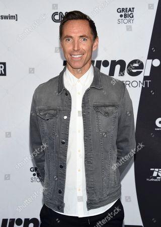 Stock Photo of Turner Sports host Steve Nash attends the Turner Networks 2018 Upfront at One Penn Plaza, in New York