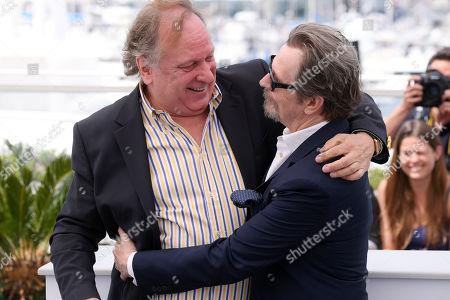Stock Photo of Douglas Urbanski and Gary Oldman