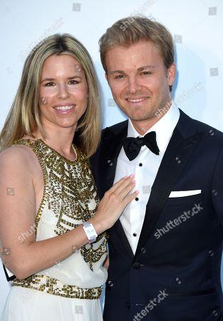 Vivian Sibold and Nico Rosberg