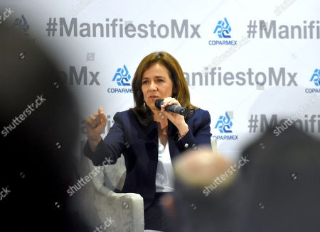 Independent Party Presidential Candidate Margarita Zavala press conference