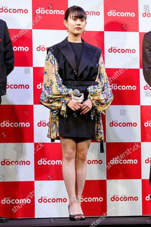 Japanese actress Mitsuki Takahata