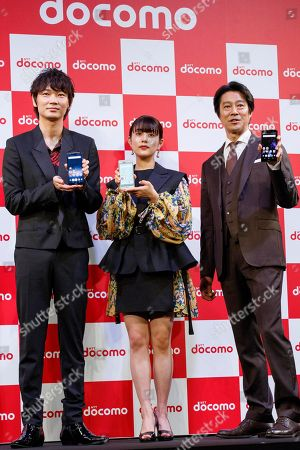 Editorial picture of NTT DoCoMo summer press conference, Tokyo, Japan - 16 May 2018