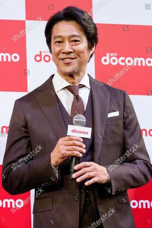 Stock Picture of Japanese actor Shinichi Tsutsumi