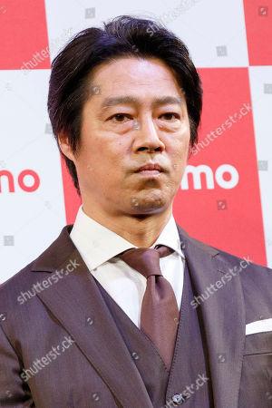 Japanese actor Shinichi Tsutsumi