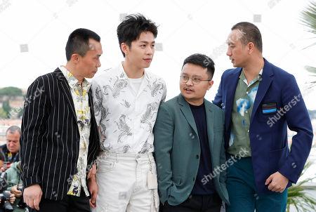 Chen Yongzhong, Li Hongqi, Gan Bi and Huang Jue