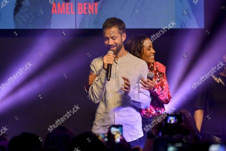 Editorial image of Cherie FM Pop Love Music concert at Hard Rock Cafe, Lyon, France - 15 May 2018