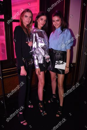 Editorial picture of Karl Lagerfeld x ModelCo launch event, Paris, France - 15 May 2018